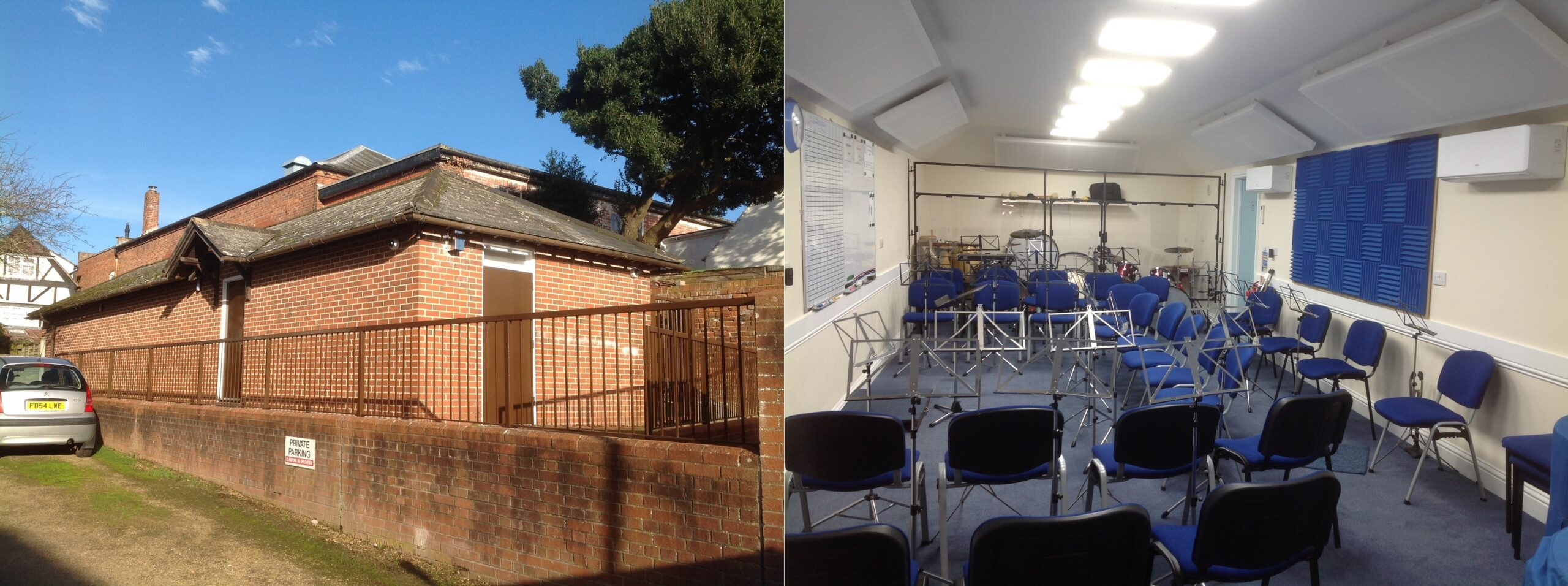 Band Room Inside & Out